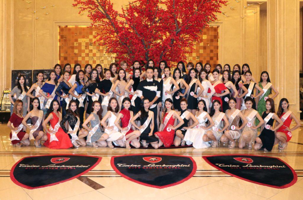 Miss Universe China 2017 Contestants Staying at Tonino Lamborghini Hotel Kunshan City Center