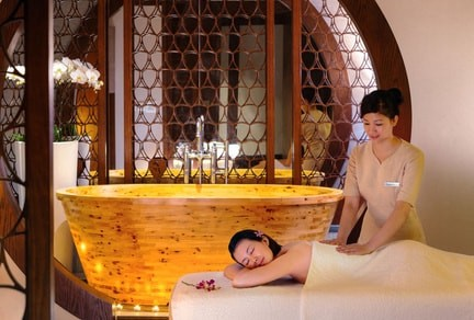 RELAXATION AT OCEAN SPA
