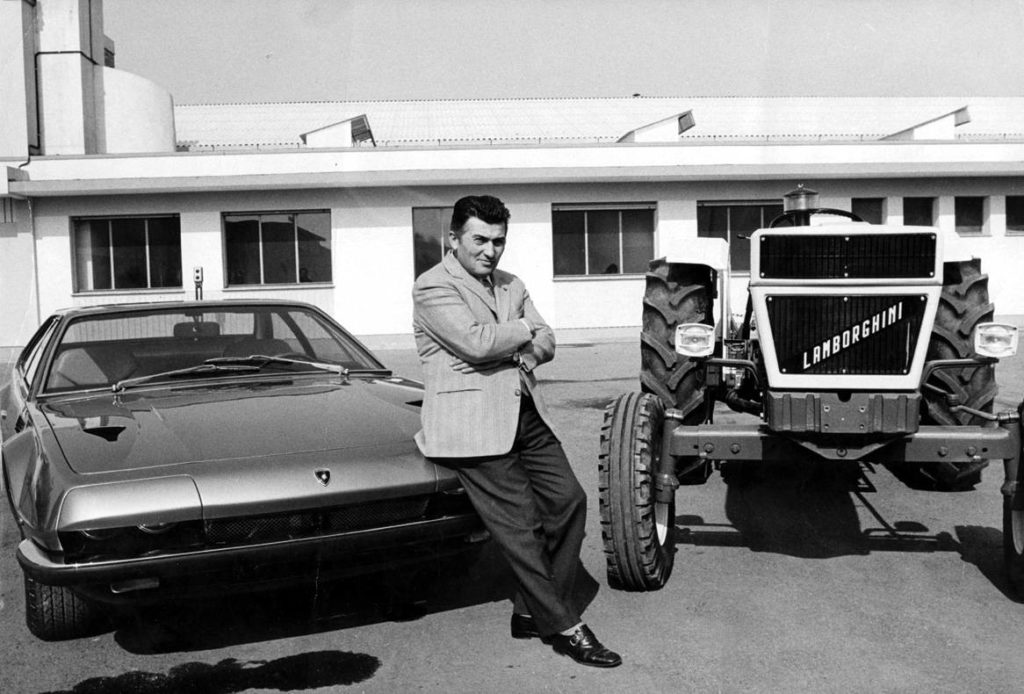 The Celebration of The Ferruccio Lamborghini Anniversary