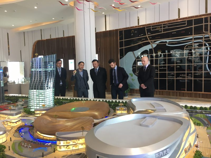 Ferruccio Lamborghini Visiting Projects in China